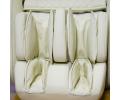 Подарочное Массажное кресло AlphaSonic II +Braintronics (Премиально белое) 14