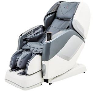 Подарочное Массажное кресло Aura Grey White