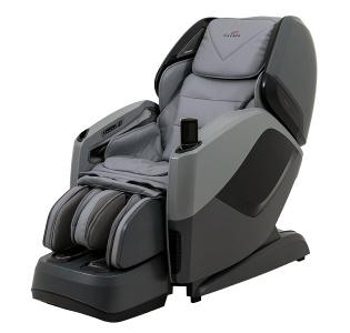 Подарочное Массажное кресло Aura Grey Black
